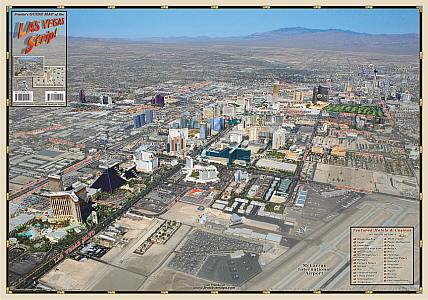 Las Vegas Strip, Las Vegas, America.