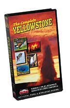 Complete Yellowstone - Travel Video - VHS.