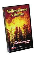 Yellowstone Aflame - Travel Video - VHS.