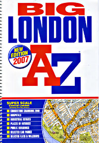 "London ""Big"" Street ATLAS, England, United Kingdom."