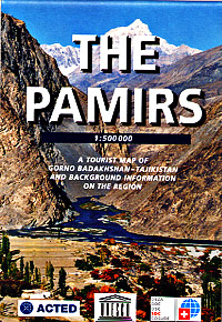 The Pamirs and Gorno Badahshan Road and Tourist Map.
