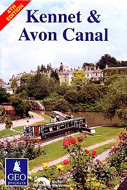 Kennet and Avon Canal Map.