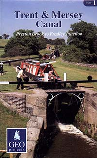 Trent & Mersey Canal Map, No.