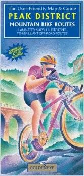 Peak District: Mountain Bike Routes Tourist Maps.