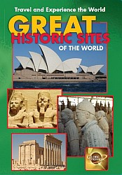 Great Historic Sites of the World (3 Shows) - Travel Video.  DVD.