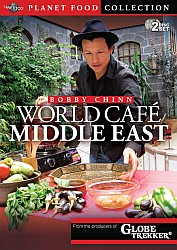 World Cafe Middle East - Travel Video.  DVD.