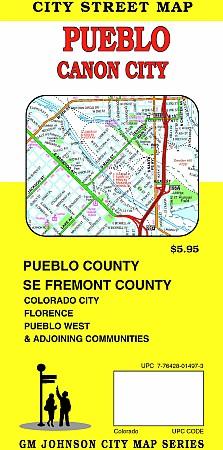 Pueblo & Canon City, Colorado, America.