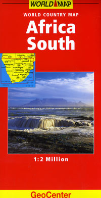Southern Africa Road and Tourist Map.