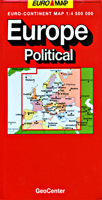 "Europe Road and ""POLITICAL"" Reference Map."