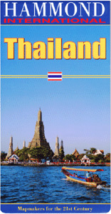 Thailand International Road and Tourist Map.