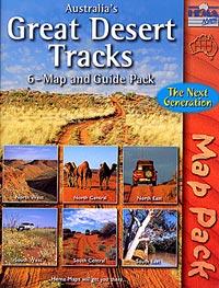 Australia Great Desert Tracks - Map Pack and Guide.