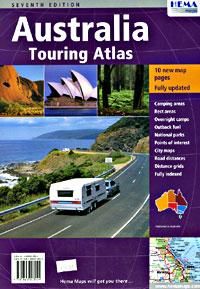 Australia SPIRAL Touring Road ATLAS.