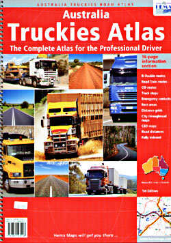 Australia Truckers' Tourist Road ATLAS.