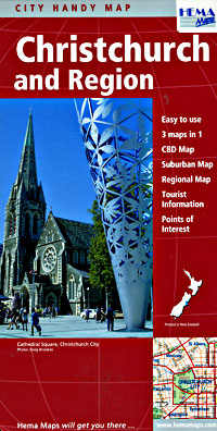 Christchurch and Region, New Zealand.