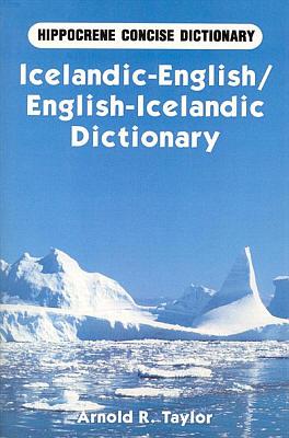 Icelandic-English, English-Icelandic, Concise Dictionary.