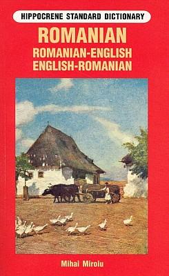Romanian-English, English Romanian, Standard Dictionary.