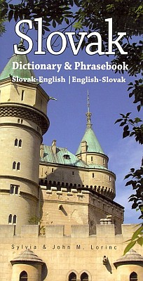 Slovak-English, English-Slovak, Phrasebook and Dictionary.