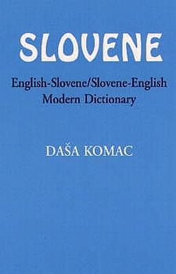Slovenian-English, English-Slovenian, Modern Dictionary.