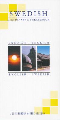 Swedish-English, English-Swedish Phrasebook and Dictionary.