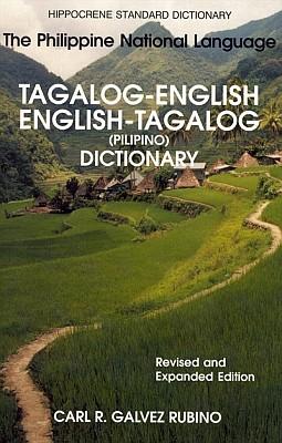 Filipino (Tagalog)-English, English-Filipino, STANDARD Dictionary.