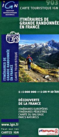 France Long Distance HIKING Trails.