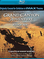 Grand Canyon Adventure: River At Risk - Travel Video - Blu-ray DVD.