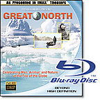 Great North - Travel Video - Blu-ray Disc.