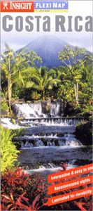 "Costa Rica ""Flexi"" Road and Tourist Map."