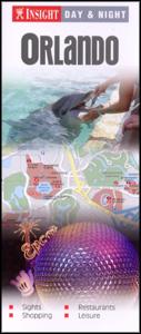 "ORLANDO ""Day and Night"" map Florida, America."