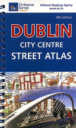DUBLIN Pocket City Street ATLAS, Ireland.