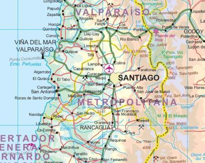 South America, Tourist Road ATLAS.