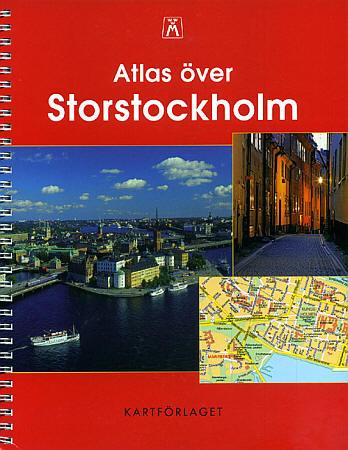 STOCKHOLM Street ATLAS, Sweden.