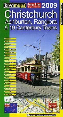 Christchurch & 19 Canterbury Towns, New Zealand.