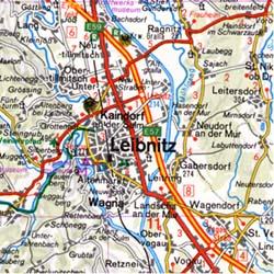 Burgenland - Eastern Styria.