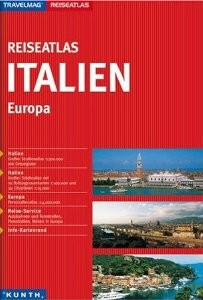 Italy Tourist Road Atlas.