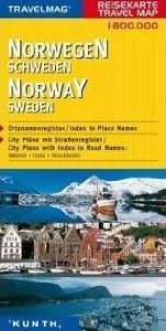 Norway Road and Tourist Map.