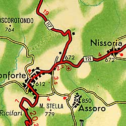 Catania Province  (Best Map of Mt. Etna).