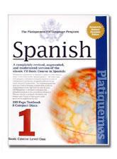 """""""Platiquemos"""" (Let's Speak) Programmatic Spanish Language, Audio CD Course, Volumes 1 & 2."""