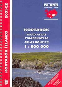 Iceland Tourist Road ATLAS.