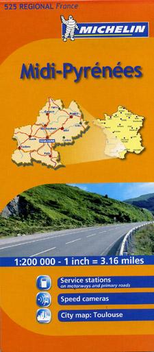 "Middle Pyrenees (""Midi Pyrenees"") Region #525."