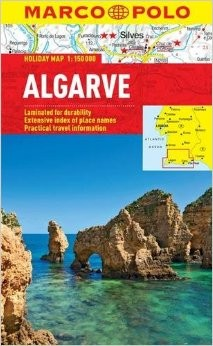 Algarve Holiday Map Road and Tourist Map. Marco Polo edition.