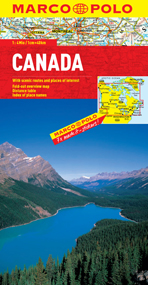 Canada Road and Tourist Map. Marco Polo edition.