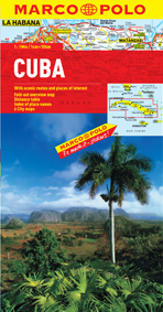 Cuba Road and Tourist Map. Marco Polo edition.