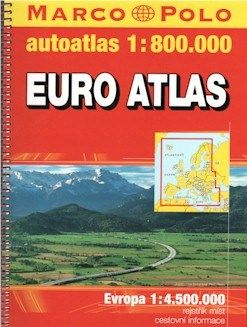 Europe Road and Tourist ATLAS.  Scale 1:8,00,000.