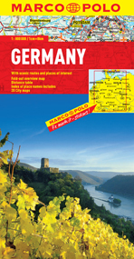 Germany Road and Tourist Map. Marco Polo edition.