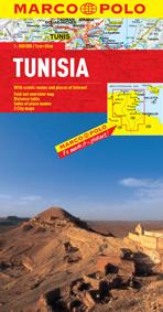 Tunisia Road and Tourist Map. Marco Polo edition.