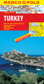Turkey Road and Tourist Map. Marco Polo edition.