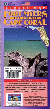Fort Myers and Cape Coral, Florida, America.