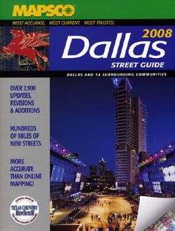 DALLAS Street ATLAS, Texas, America.