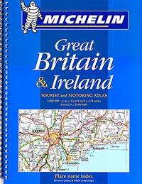 England, Wales and Scotland, Tourist Road ATLAS.